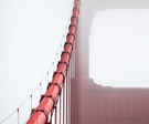 Golden Gate Bridge Cables, photo by Della Huff
