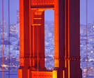 Golden Gate Bridge Tower, photo by Della Huff