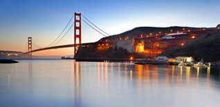 Visit the Golden Gate Bridge, photo by Della Huff