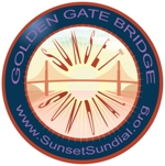 Antenna Theater Golden Gate Sunset Sundial
